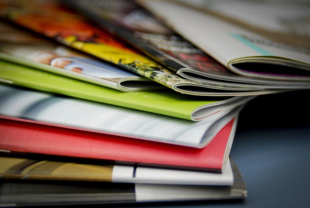 Finished magazine